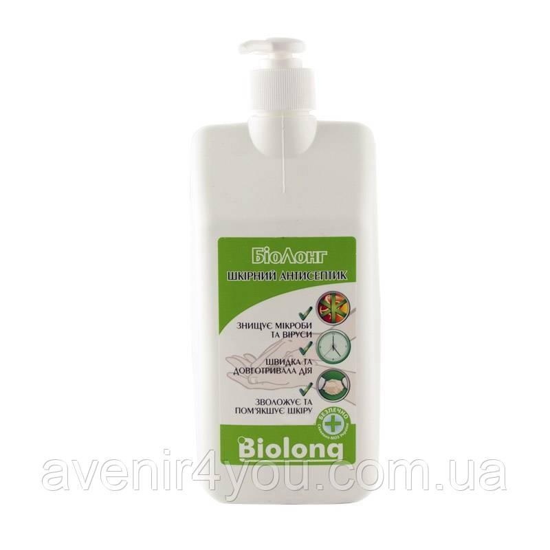 Кожный антисептик Биолонг 1л с дозатором