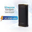 Компактный аккумулятор Promate proVolta-21 Black, фото 7
