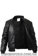 Куртка мужская экокожа BILLIONAIRE (G.R.C.MAN) G2561 чёрная, фото 1