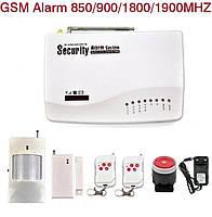 Беспроводная GSM сигнализация Стандарт (с пластмассовыми пультами)