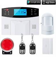 Комплект GSM сигнализации SGA-9907. Обновленный комплект