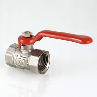 """Кран шаровой VALTEC COMPACT 3/4"""", рукоятка флажкового типа, резьба присоединений – вн/вн"""