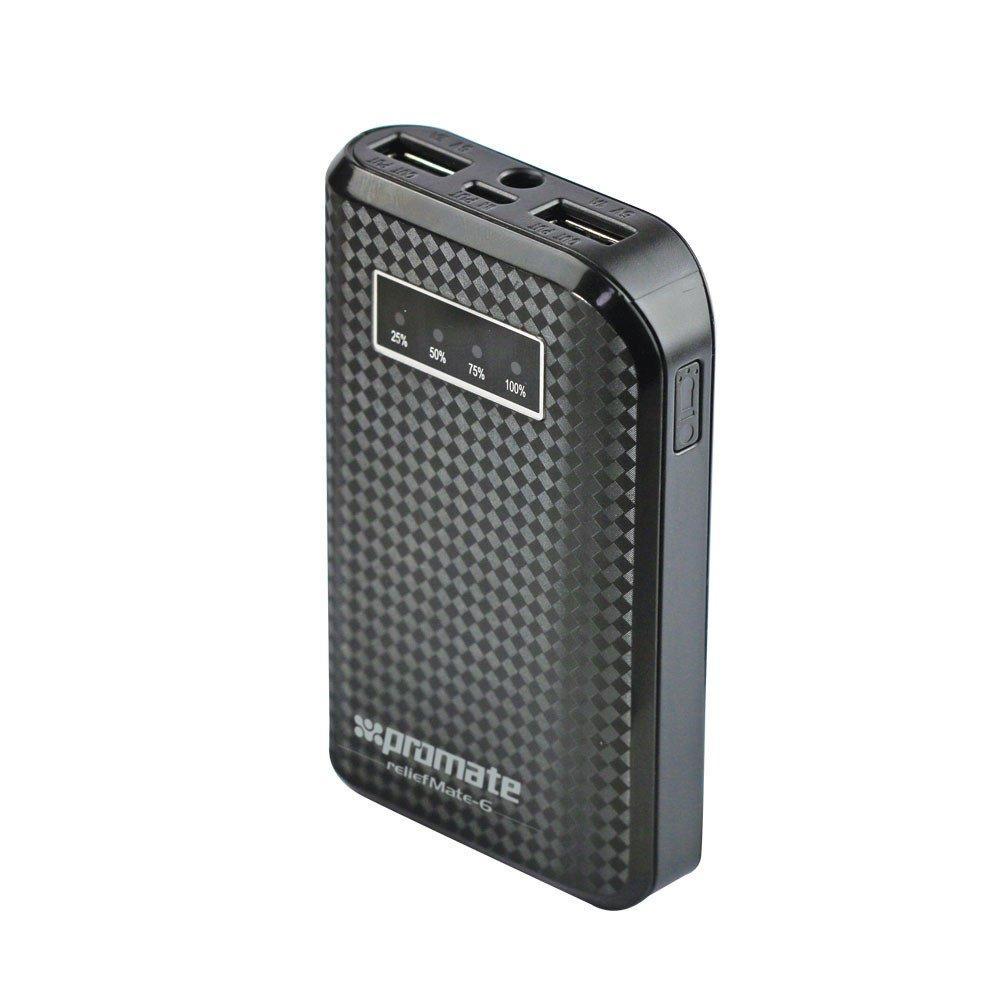 Универсальная мобильная батарея Promate reliefMate-6 Black