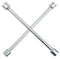 Ключ баллонный, крестообразный 17х19х21х22 мм