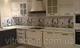 Кухонний фартух з скла квіти