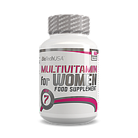 Витамины и минералы для женщин Multivitamin for Women BioTech