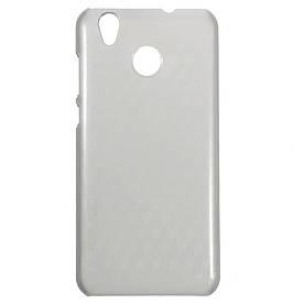 Чехол накладка для Oukitel K7000 пластиковый матовый, OCUBE, серый