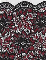 Ткань Jade 8034-16rkv siyah-bordo