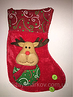 Носок для подарка Санта Клауса