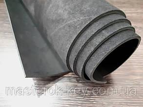 Кожа ременная Премиум т.4мм цвет черный
