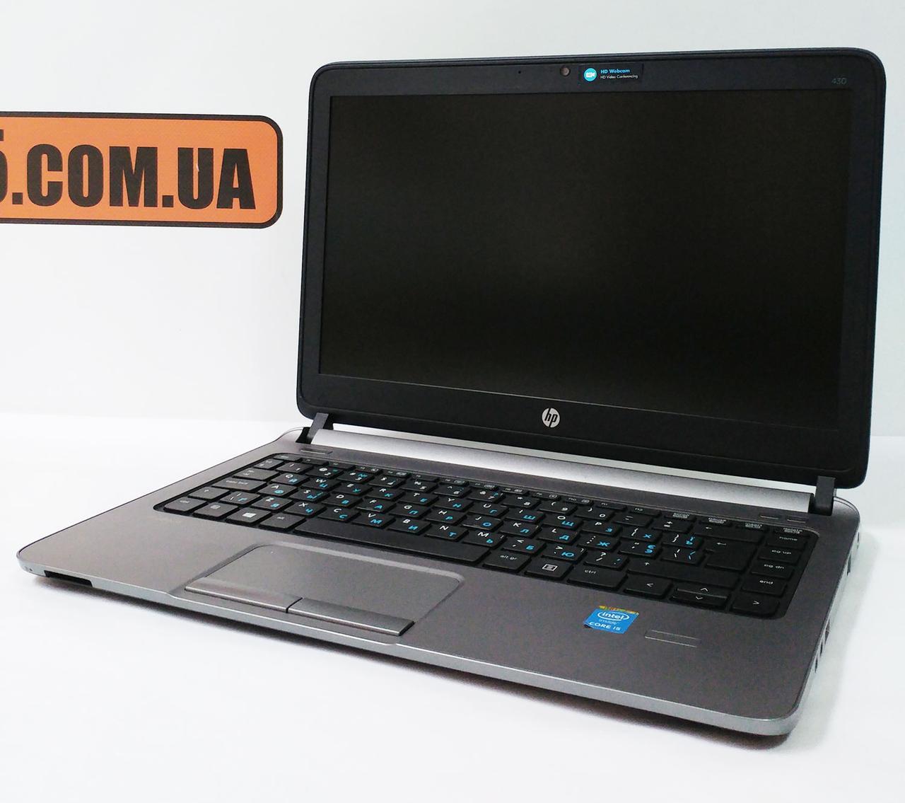 "Ноутбук HP ProBook 430 G1, 13.3"", Intel Core i5-4300U 2.9GHz, RAM 4ГБ, HDD 500ГБ, класс ""B"""