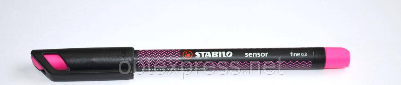 STABILO Sensor. Капилярная ручка с сенсорным стержнем (0,3mm)