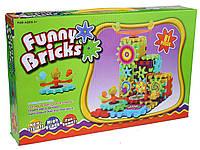 Конструктор на шестерёнках Funny Bricks 4800 на 81 деталь
