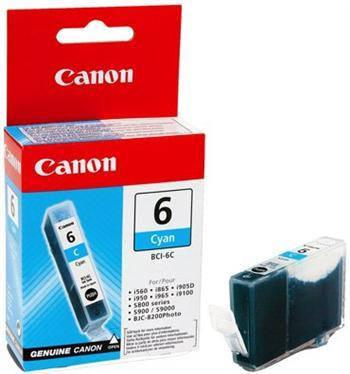 Чернильница Canon BCI-6C (Cyan) iP3000/ 4000/ 5000/ 6000D/ 8500, MP760, фото 2