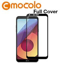 Защитное стекло Mocolo 2.5D 9H на весь экран для LG Q6 M700 черный