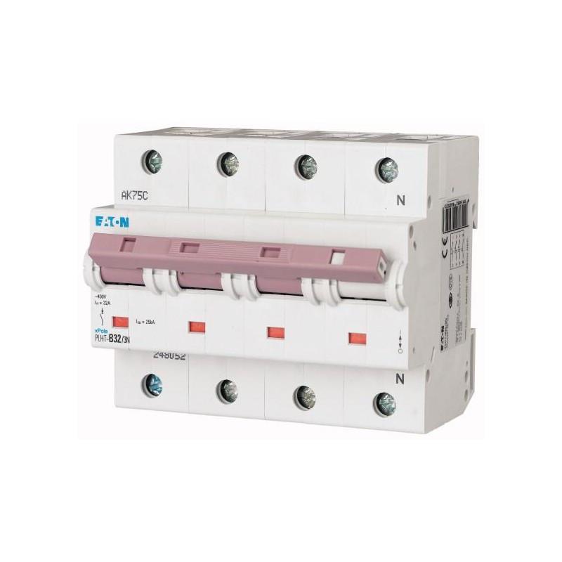 Автоматичний вимикач PLHT-C32/3N (248061) Eaton 32A 3Np 20kA