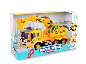 Машинка Стройтехника Super Truck
