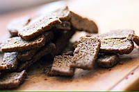 Грінки житні зі смаком сало з  гірчицею, ТМ Апачі 60гр.