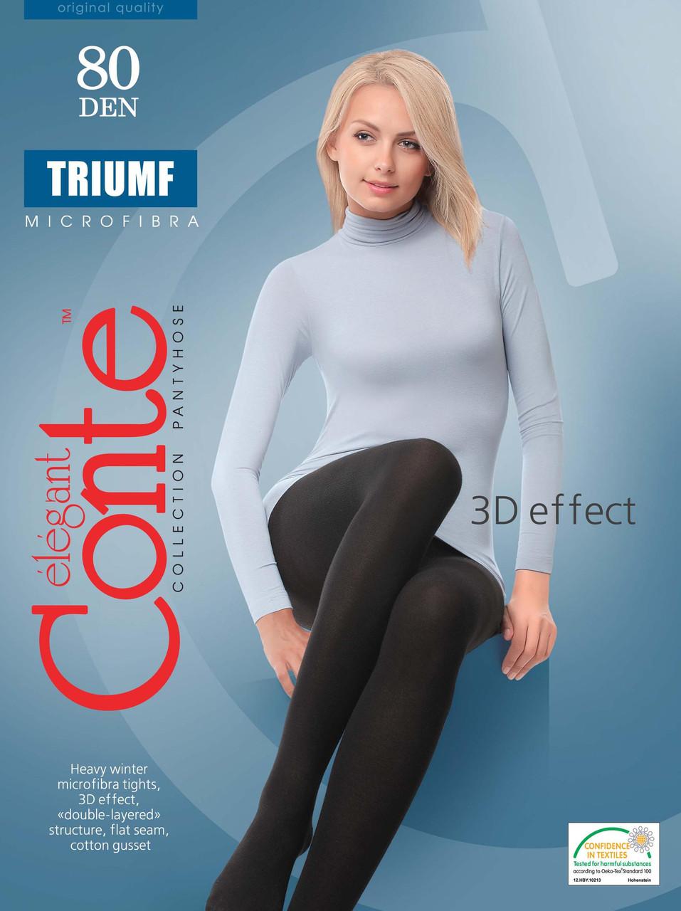 Conte теплые колготки TRIUMF 80