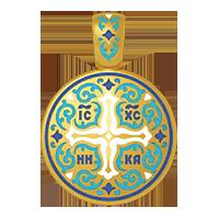 Хрест натільний процвітший, підвіска