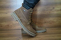 Ботинки мужские в стиле Timberland натуральная кожа Accord, фото 1