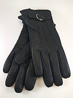 Перчатки мужские кожа олень шерстяная набивка