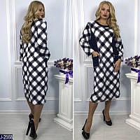 Женское платье теплый трикотаж(ботал)
