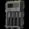 Новое универсальное зарядное Nitecore Intellicharger NEW i4, фото 4