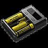 Новое универсальное зарядное Nitecore Intellicharger NEW i4, фото 5