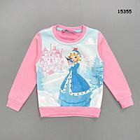 """Теплая кофта """"Зимняя принцесса"""" для девочки. Маломерит. 2-3; 3-4; 4-5; 5-6 лет"""