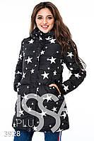 Ledi M Женская курточка IS 3928 черный Леди М