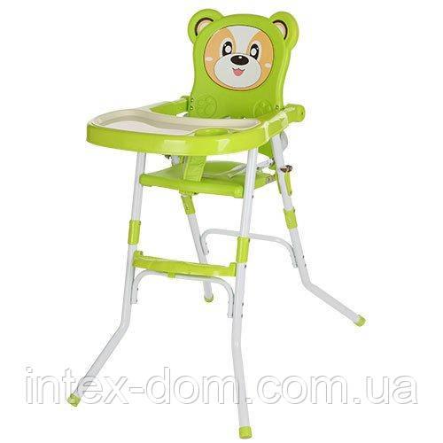 Стульчик для кормления Bambi (113-5) Зеленый