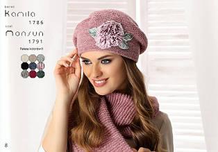 Стильный и теплый женский шарф Monsun - BETINA Польша