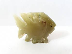 Рыбка из натурального оникса