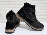 Мужская обувь зимняя - натуральная кожа, замша (украина)