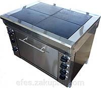 Плита электрическая промышленная ЭПК-4мШП эталон плавная регулировка