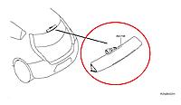 Nissan Leaf Фанар зупинки і заднього ходу