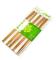 Палочки для еды бамбук (5 пар) (24х12х1 см)