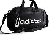 Спортивная сумка Adidas. Сумка в дорогу. Дорожная сумка. Сумки адидас., фото 8