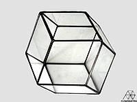 Флорариум многогранник ромб