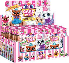 Ароматні фігурки-капкейки CAKE PETS серії Песики