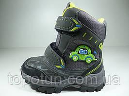 """Термо-ботинки для мальчика """"Meekone"""" Размер: 28"""
