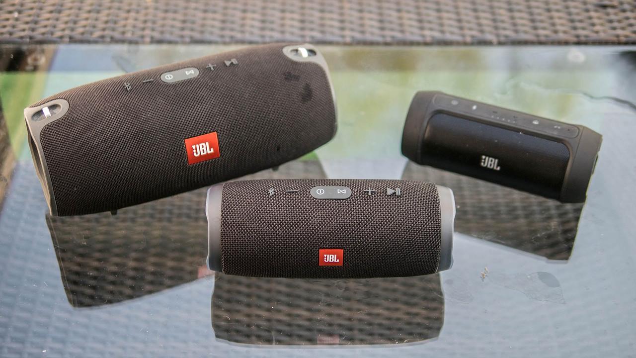 JBL Charge 3 Bluetooth стерео колонка c USB и MicroSD