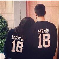"Парные свитшоты ""Mr. & Mrs."" , фото 1"
