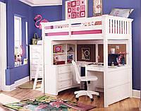 """Детская кровать с кабинетом """"Джерри"""" Чавис"""