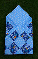 Конверт-одеяло для новорожденных В сердечки и котов