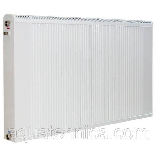 Радиатор Термия медноалюминиевый 50/60 см с нижним подключением и термоклапаном