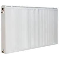 Радиатор Термия медноалюминиевый 50/60 см с нижним подключением и термоклапаном, фото 1