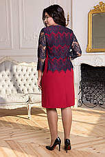 Платье больших размеров 50-56 SV А 4841, фото 3