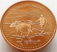 Непал 2 рупии 2006